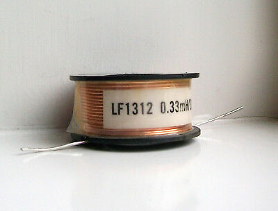 LF1312.33 Medium Power 0.33mH 0.33MH 0.33Mh Speaker Crossover Inductor New!.
