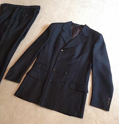 Men's Grey Double Breasted GUCCI Suit Jacket, Wool+Mohair, GREAT Cond, RRP $2500