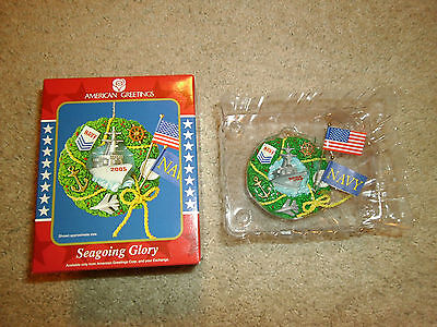 American Greetings Ornament *seagoing Glory - Operation Santa* Nib, Fast Ship!