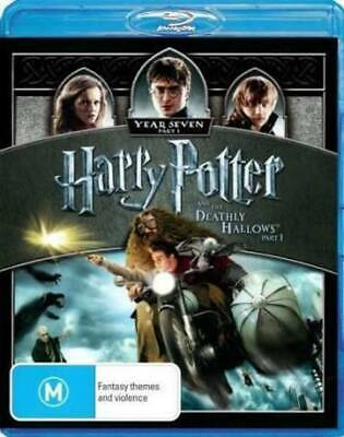 HARRY POTTER AND THE DEATHLY HOLLOWS Daniel Radcliffe Blu-ray Region B PAL