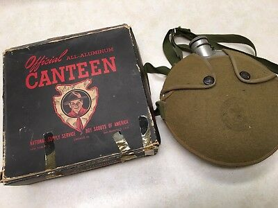 Official Boy Scout Canteen #1201 in Box
