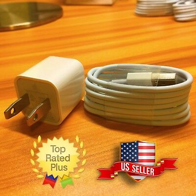 Lightning Cable For Apple iPhone X 8 8 PLUS 7 7 PLUS 6 Charger Adapter (1m/3ft)