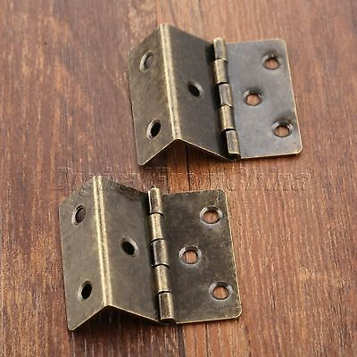 Classic Folding Hinges Wooden Box Decorative Cabinet Drawer Dollhouse Door Hinge