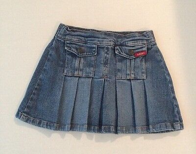 Guess? Guess Jean 90's Contemporary Jean Pleated Skort Girls Size 6
