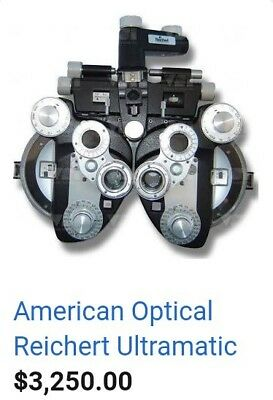 PHOROPTER - American Optical Reichert Ultramatic