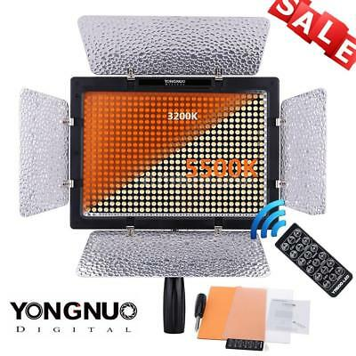 YONGNUO YN600L 600 LED 5500K Studio Video Light Lamp Adjustable For Camera DSLR