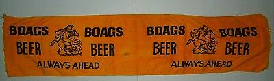 James Boags Beer Always Ahead Large Bar Towel Runner for home bar or collector