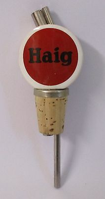 Haig Scotch Whiskey new bottle nip measure pourer for home bar pub or collector