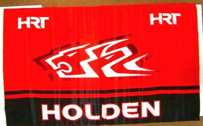 Holden HRT Racing V8 Supercars brand new 1.4m x 89cm flag for home bar,collector