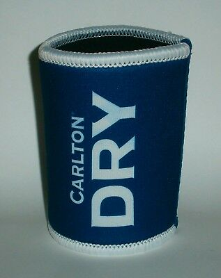 Carlton Dry Beer brand new stubby can holder cooler for home bar pub collector