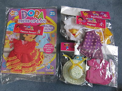 Bnip -  Dora Dress Up And Go Magazine Issue No. 25+ 2 Additional Outfits