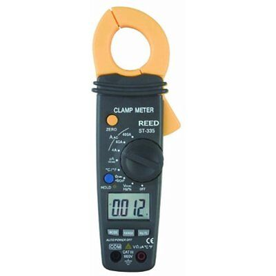 Multi Testers Reed ST-335 Clamp Meter With Temperature Measurement, 40 Megaohms