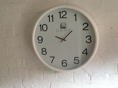 vintage gents of leicester wall clock