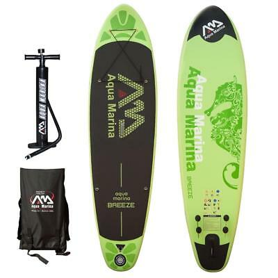 Aqua Marina Breeze 2017 Stand Up Paddle Board Inflatable Paddel Pumpe Sup Isup