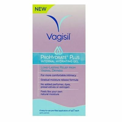 Vagisil ProHydrate Internal Hydrating Gel 6 x 5g 1 2 3 6 12 Packs