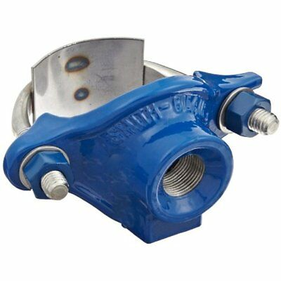 Pipe Fittings Smith-Blair Ductile Iron Saddle Clamp, Stainless Steel Single 3""