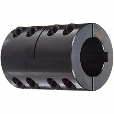 ClampOn Couplings Climax Part 2ISCC-150-150KW Mild Steel, Black Oxide Plating