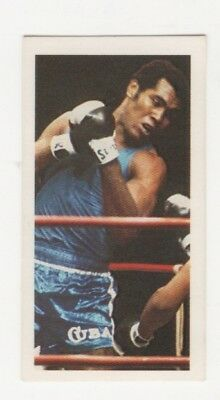 Olympic Games Boxing Card 1979