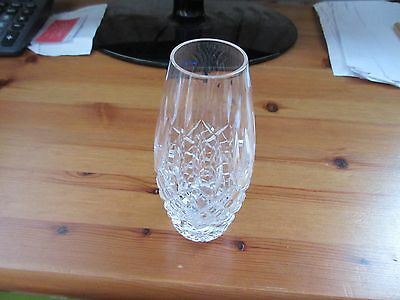 Small Crystal Vase 12 Cm High In An Excellent Condition