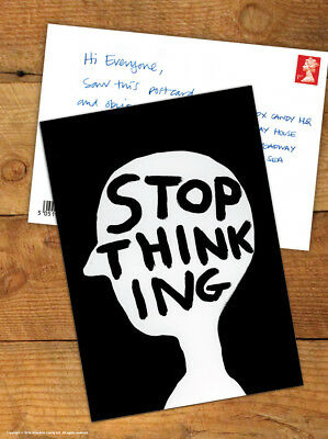 David Shrigley Brainbox Candy Postcard Funny Comedy Humour Novelty Cheeky Joke