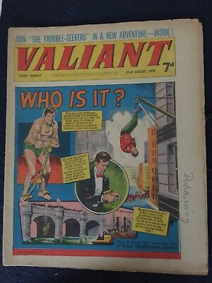 VALIANT  22nd August 1970
