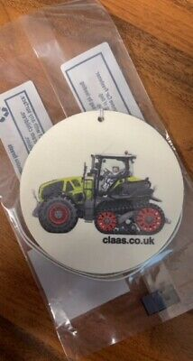 Claas Axion Tractor Air Freshener - CLUKMS208