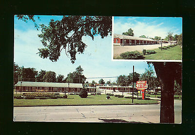 Green Acres Motel - Pittsfield, IL - Phone 580 - Free TV - 1965 - Mailed to SD