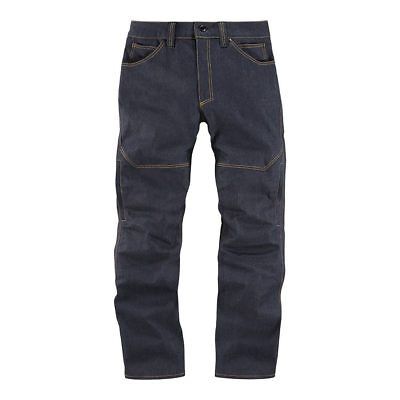 Icon 1000 Akromont Denim Textile Motorcycle Motorbike Trousers Pants | All Sizes