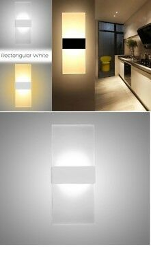 Applique Led Da Interno Doppia Luce Up Down W Bianca Luce Calda Naturale 4000K