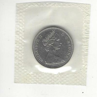 1965  Canada 5 Cents, Mint Sealed In Cellophane