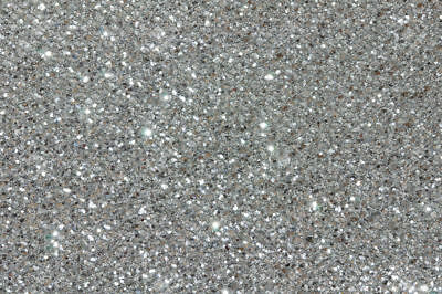 1kg Finest Silver Glitter 008 - 200 Size Hex Double Sided Craft Walls Wine Kilo