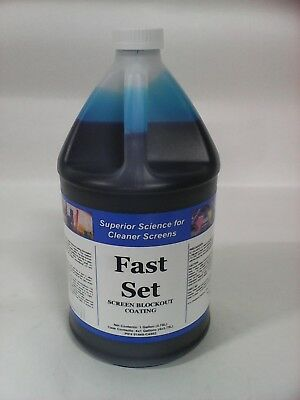 Kor-Chem Fast Set  - Fast Drying Screen Blockout  -  one gallon bottle