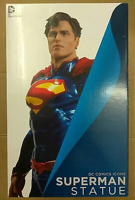 DC Comics Collectibles Icons Superman Statue Brand New