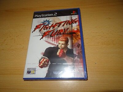 Fighting Fury PS2 New Sealed pal version