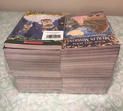 NEW Magic Tree House COMPLETE MEGA SET 53 SEALED BOOKS Osborne Chapter Books AR