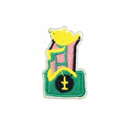 Abstract King (Iron On) Embroidery Applique Patch Sew Iron Badge