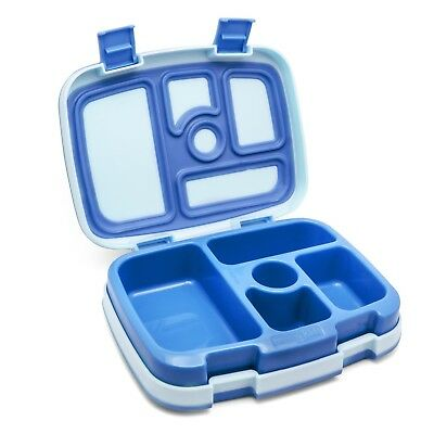 Bentgo Kids Lunch Box with 5 compartments, Leak-Proof blue