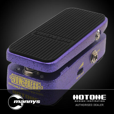 Hotone Vow Press Switchable Volume & Wah Pedal