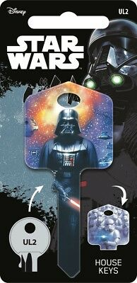 Star Wars Galactic Empire Painted Licensed UL2 Universal 6Pin Cylinder Key Blank