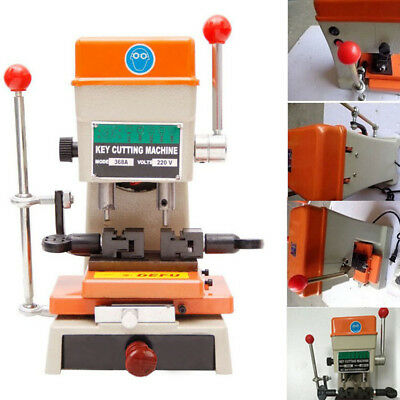 368A 180 W Full Set Cutters Locksmith Tools With Laser Copy Duplicating Machine