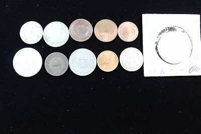 HUNGARY 11 assorted coins   lot H 328