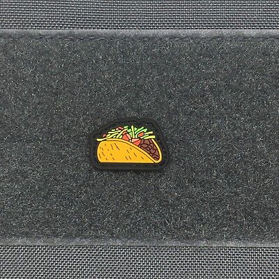 Tactical Outfitters - Taco pvc cat eye morale patch - ranger bell del tuesday