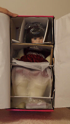 "Marie Osmond's ""Red Velvet"" Ltd.Edition #164 of 1,200 Doll, NIB, NEVER REMOVED"