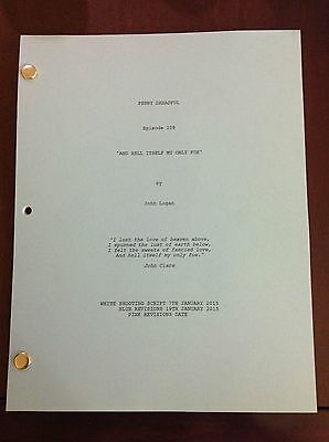 "PENNY DREADFUL Script 42 Page ""And Hell Itself My Only Foe"" Episode 209"