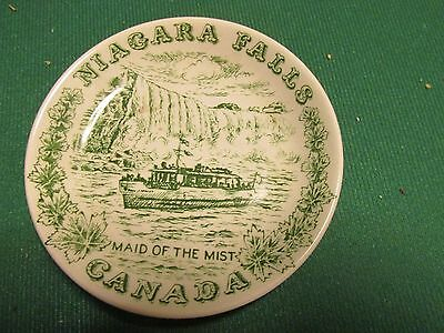 Wood And Sons Niagra Falls Maid Of The Mist Plate 11Cm Diameter