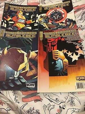 Transformers Comic bumblebee Issues 1-4 2009