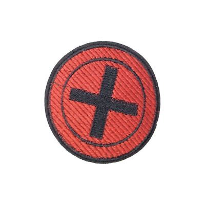 Red Cross (Sew On) Embroidery Applique Patch Sew Iron Badge
