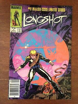 GOOD MARVEL 1985 Longshot Limited Series Issue #1 of 6 Great Condition