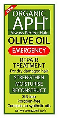Organic APH Olive Oil Emergency Repair Treatment (20ml sachet)  for damaged hair