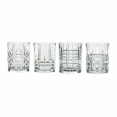 Nachtmann Crystal - Highland Mixed Tumbler 345ml Set of 4 (Made in Germany)